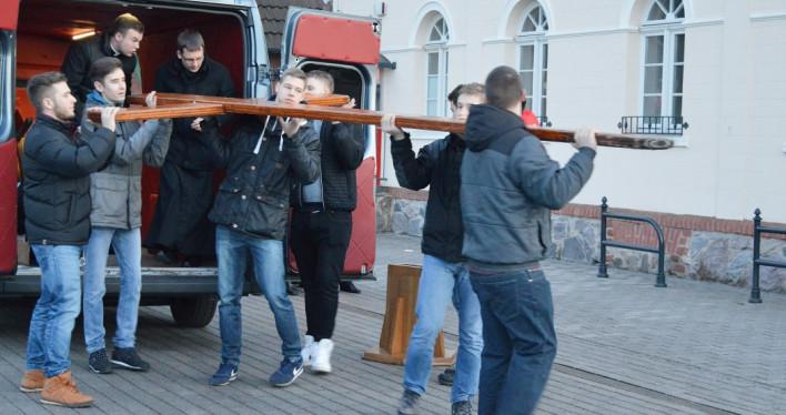 Powitanie Symboli Światowych Dni Młodzieży w Archidiecezji Szczecińsko-Kamieńskiej