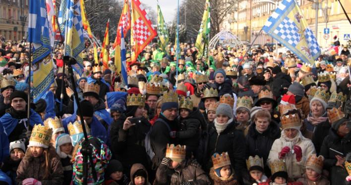 Szczeciński Orszak Trzech Króli 2017