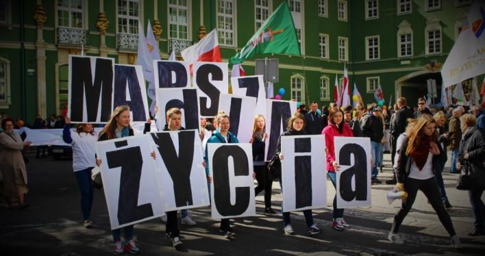 Szczeciński Marsz dla Życia 2016