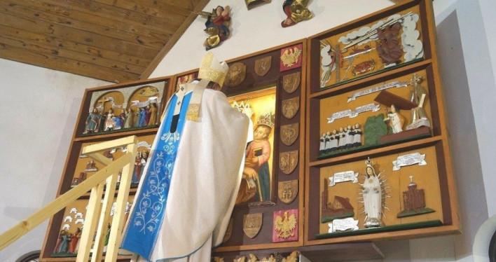 Koronacja Obrazu Nadodrzańskiej Królowej Pokoju w Siekierkach