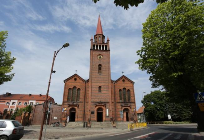 Dębno Kościół parafialny pw św. Ap. Piotra i Pawła