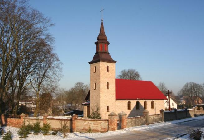 Samlino Kościół filialny pw Miłosierdzia Bożego