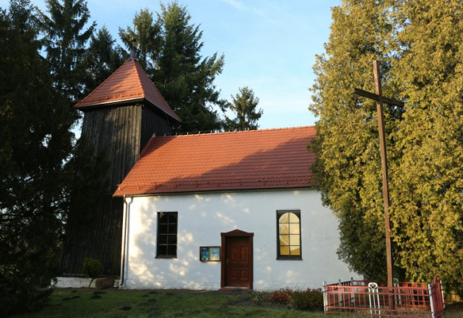 Glewice Kościół filialny pw św.Stanisława BM