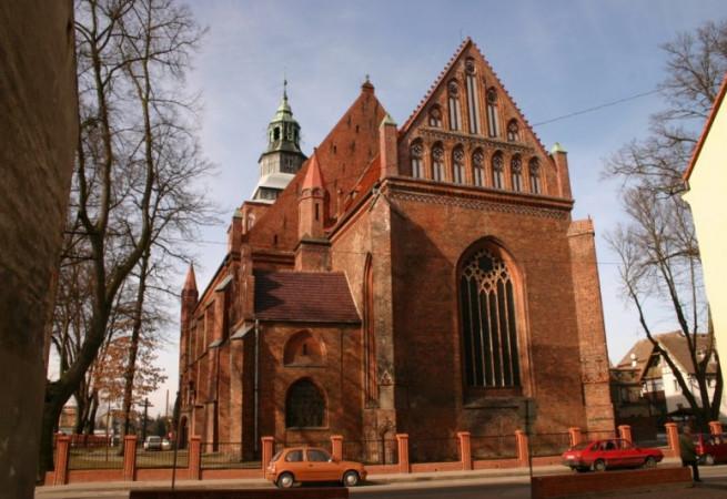Gryfice Kościół parafialny pw Wniebowzięcia NMP