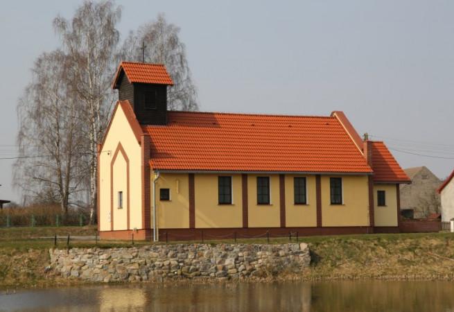 Przybiernowo Kościół filialny pw św. Floriana