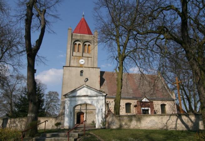 Dziedzice Kościół filialny pw MB Częstochowskiej