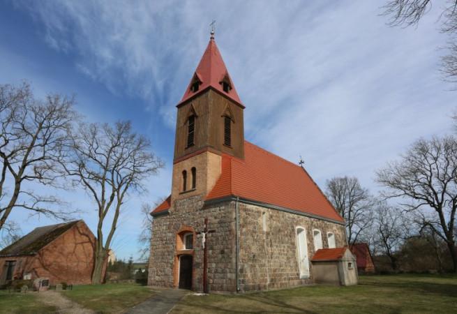 Żelichów Kościół filialny pw MB Królowej Korony Polskiej