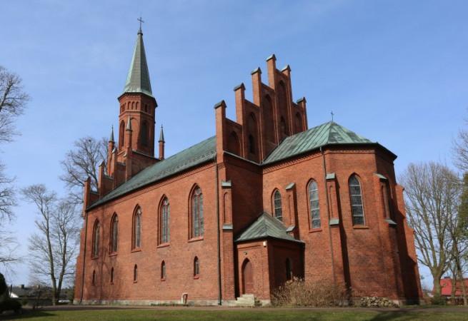 Kołczewo Kościół parafialny pw św. Katarzyny