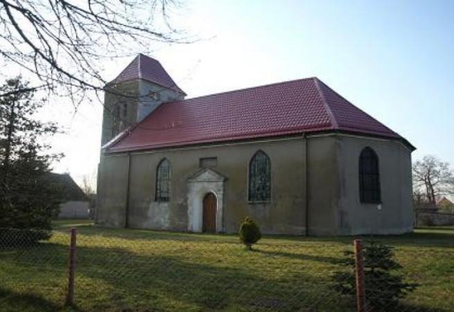 Rogowo Kościół filialny pw św.Michała Archanioła