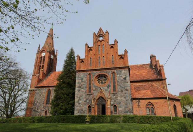 Lipiany Kościół parafialny pw Wniebowzięcia NMP