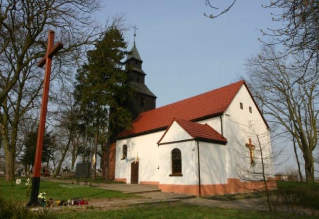 Mielęcin Kościół parafialny pw Nawiedzenia NMP