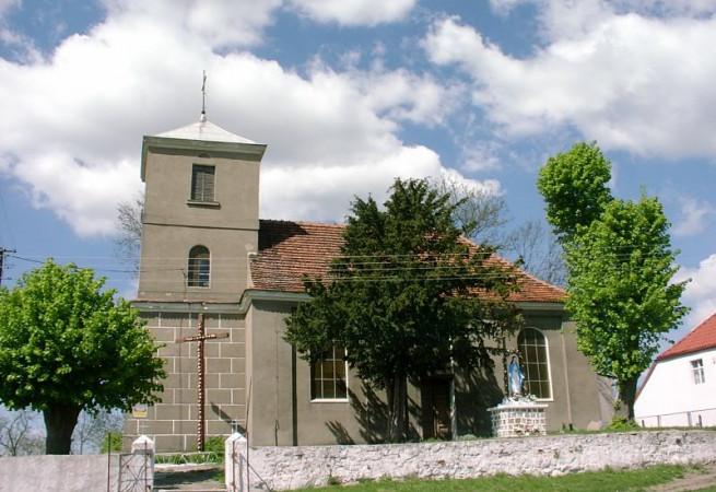 Przyjezierze Kościół filialny pw Matki Bożej Częstochowskiej