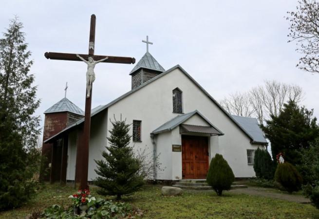 Lędzin  Kościół filialny pw Narodzenia NMP