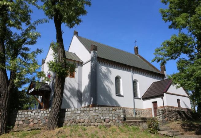 Radziszewo Kościół parafialny pw MB Królowej Polski
