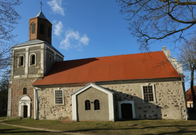 Krępcewo Kościół filialny pw MB Częstochowskiej