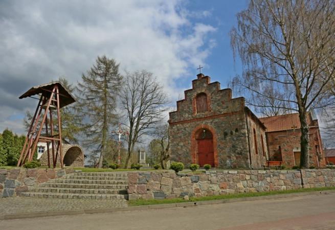 Radowo Małe Kościół parafialny pw MB Szkaplerznej