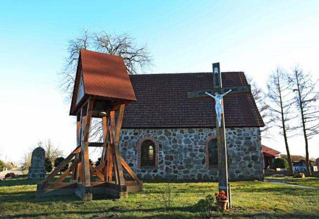 Borkowo Wielkie Kościół filialny pw św.Jana Apostoła