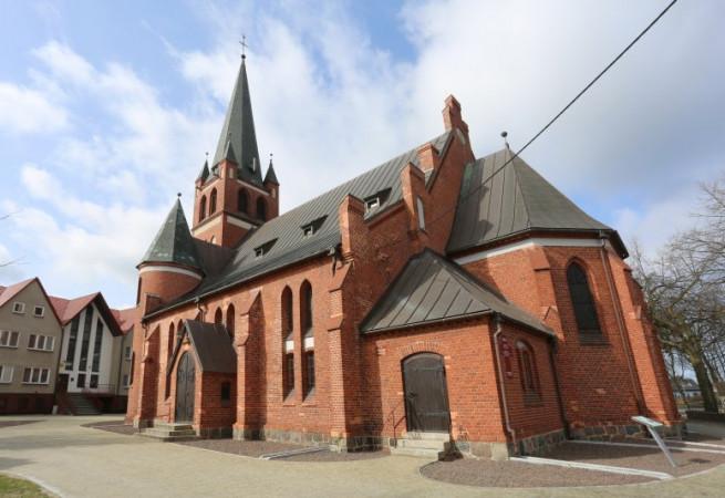 Świnoujście Kościół parafialny pw Najśw. Serca Pana Jezusa