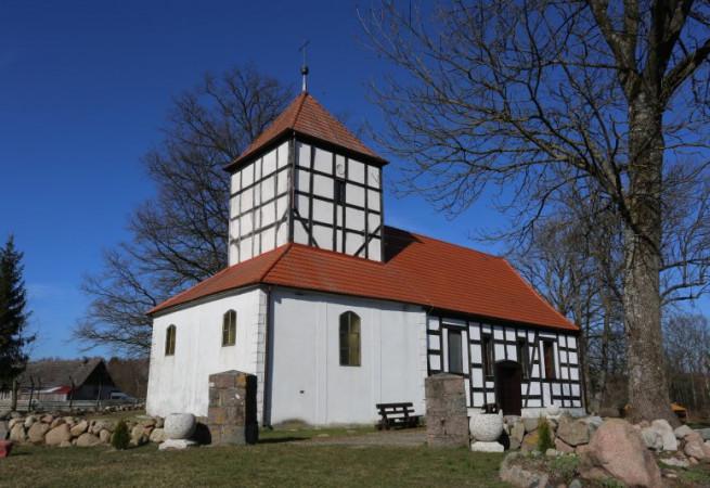 Stara Dobrzyca Kościół filialny pw św.Apostołów Piotra i Pawła