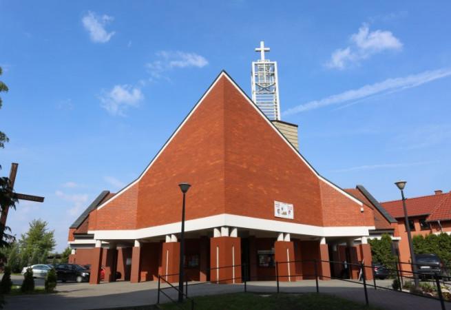 Stargard Kościół parafialny pw Chrystusa Króla Wszechświata