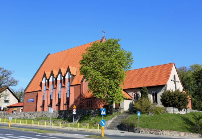 Szczecin Kościół parafialny pw św. Stanisława BM