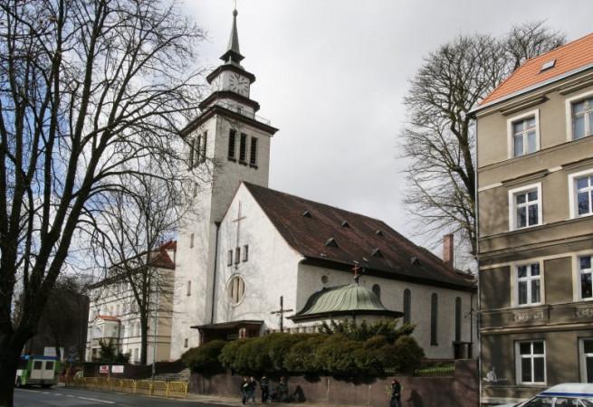 Szczecin Kościół parafialny pw Najświętszego Zbawiciela