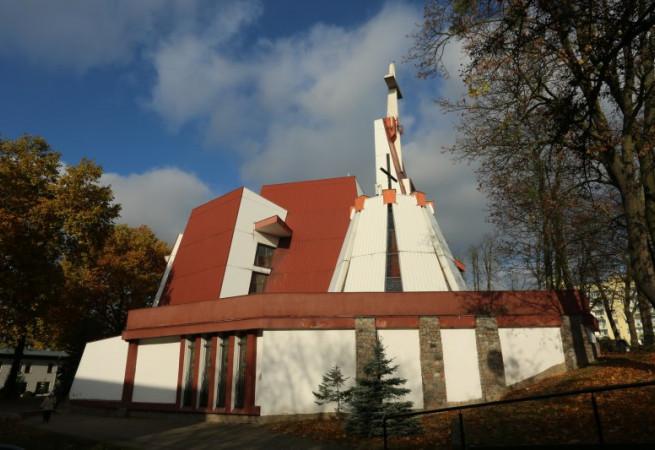Szczecin Kościół parafialny pw Miłosierdzia Bożego