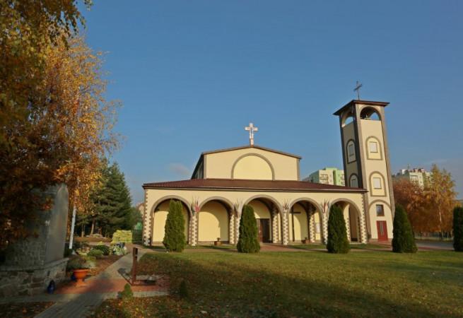 Szczecin Kościół parafialny pw Najświętszego Odkupiciela