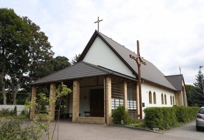 Szczecin - Płonia Kościół parafialny pw św. Franciszka z Asyżu