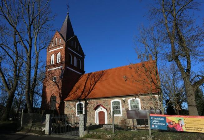Szczecin Kościół parafialny pw NMP  Matki Kościoła