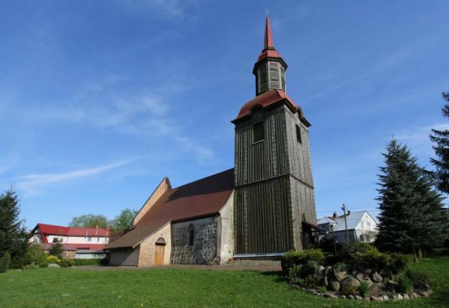 Przęsocin Kościół filialny pw Wniebowzięcia NMP