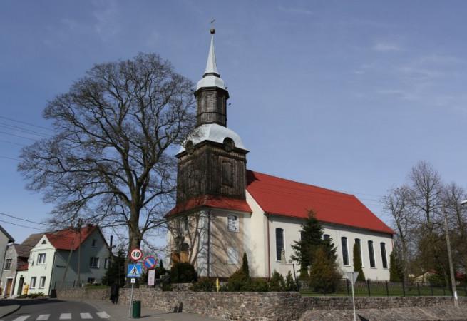 Trzebież Kościół parafialny pw Podwyższenia Krzyża Świętego