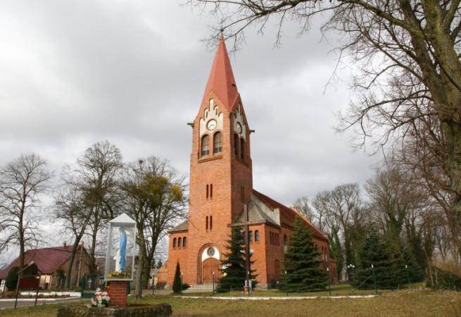 Staw Kościół filialny pw Najśw.Serca Pana Jezusa
