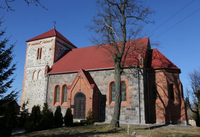 Sokoliniec Kościół filialny pw św. Józefa