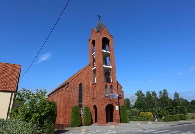 Dargobądź Kościół filialny pw MB Częstochowskiej